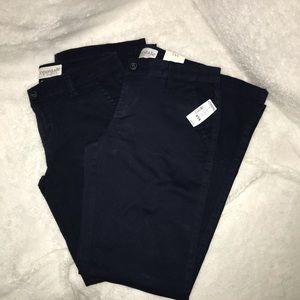 Aeropostale 5/6 Navy Blue Uniform Pants